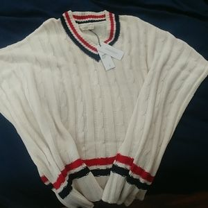 UGG sweater poncho